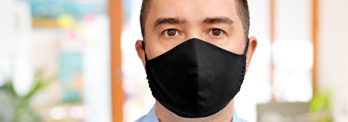 Masque tissu homme